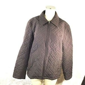 COPY - Y.B.C womens Quilted Jacket , Size XL , EUC